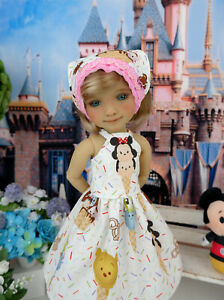 """Disneyland Treats - dress & shoes for 14.5"""" Ruby Red Fashion Friends doll"""