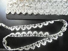 ancienne dentelle fine 100x1.2cm☺olds lace