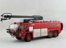 1/50 OSHKOSH AIRPORT PRODUCTS Fire Engine Striker 6X6 Truck Red Diecast
