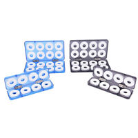 8/16Pcs Foam Winding Board Fishing Line Wire Shaft Bobbin Spools Tackle Box JR