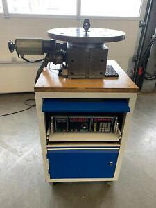 Lehmann CNC 80 Teilapparat, 4. Achse, schleifen, fräsen, inkl. Mwst