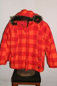 REI Girls 14-16 Large zip-out insulation hooded Snowboard/snow Jacket