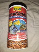TetraCichlid Floating Cichlid Sticks for Medium / Large Cichlids  11.30-Ounce