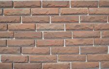 24 pezzi di Plastica stampi ANTICHI IMPIALLACCIATURA del MATTONE di cemento#W08