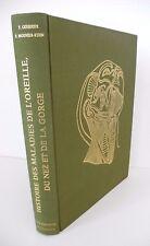 HISTOIRE DES MALADIES DE L'OREILLE, DU NEZ ET DE LA GORGE - GUERRIER - 1980