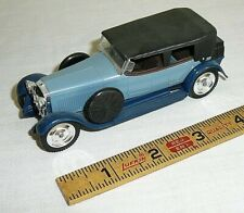 1:43 Scale Solido 1926 Hispano-Suiza Blue with Black Top Diecast Car