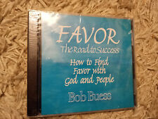 Favor: The Road To Success - How to Find Favor... by Bob Buess(2-CD Set) **NEW**