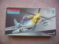 Monogram 1:48 P-51D Mustang Kit 5207 - Complete and Unassembled