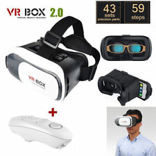 VR BOX 3D Virtual High Reality Glasses Goggles Headset Bluetooth Remote Gamepad