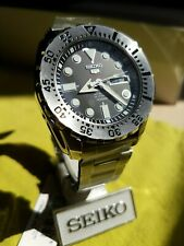 Seiko 5 Sports Automatic 24 Jewels Japan Made SRP599 SRP599J1 SRP599J Men Watch