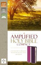 Amplified Thinline Bibbia DUO DUO Dk Prugna (Imitazione Pelle), 9780310444022 ZON.