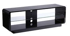 Alphason Luna TV Stand in Black High Gloss 1400mm