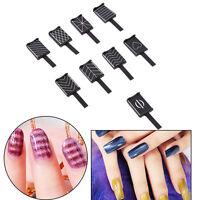 9pcs 3D Magnet Magnetic Stick for Cat Eye Gel Polish UV LED Nail Art Manicure se