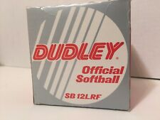 Dudley Official Softball Model Sb12Lrf New In Box