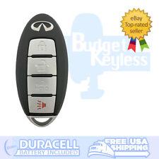OEM 4 Button INFINITI 2013 JX35 2014 - 2016 QX60 Keyless Entry Remote w/ New Key