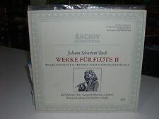 33 TOURS / LP--JOHANN SEBASTIAN BACH--OEUVRES POUR FLUTE TRAVERSIERE II