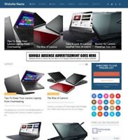 LAPTOPS STORE - Professionally Designed Affiliate Website For Sale + Domain!