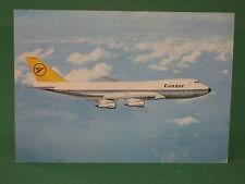 AK Condor Jumbo-Jet Boeing 747 Lufthansa alte Ansichtskarte ungelaufen
