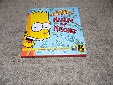 2014 Bart Simpson's Manual of Mischief the Vault of Simpsonology Series Book