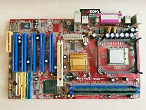 Biostar P4TPE-800, Socket 478, Intel Motherboard+ Celeron 1,7GHz +512 Mb DDR1