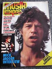 Musik Express-Nr.6 Juni 1982-Rolling Stones-Paul McCartney-The Jam-Nina Hagen