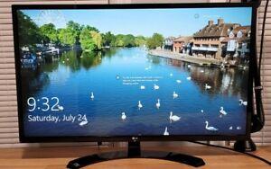"LG 32MA70HY-P 32"" Full HD IPS Backlit Monitor - Black"