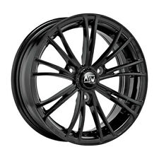 CERCHI IN LEGA MSW X2 SMART FORTWO 6.5x15 3x112 GLOSS BLACK 542