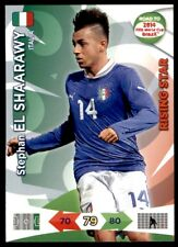 Panini Road to Brazil 2014 Adrenalyn XL Stephan El-Shaarawy Italia Rising Star
