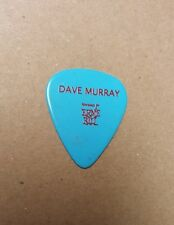 Dave Murray Guitar Pick Iron Maiden Book of Souls