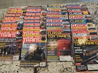 Lot of 34 CLASSIC TOY TRAINS MAGAZINES Years 2002 to 2005 Full Years
