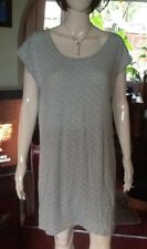 Aqua Nightdress With White Spots From Marks And Spencer Sleep Sz 12