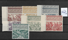 @  Frence  India   Air mail  Set 1946  MNH - Low start @ pce488