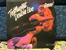 TED NUGENT -DOUBLE LIVE GONZO! -2 LP  MAI SUONATI 1978