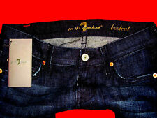 SEVEN 7 FOR ALL MANKIND USA STRETCHJEANS HÜFTJEANS W26 L32 NEU mit ETIKETT !!!