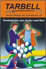 """Tarbell Course in Magic """" Produktion aus Jacke und Hut """" Zauberbuch"""