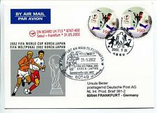 FFC 2002 Lufthansa Special Flight Calcio Football FIFA Korea Giappone Francofort