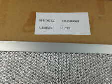 GENUINE CHEF SIMPSON WESTINGHOUSE RANGEHOOD ALUMINIUM FILTER PART # 0144002130
