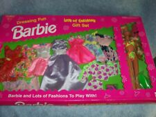 1993 Dressing Fun Barbie with Lots of Fashions Gift Set Sealed