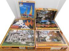 Lot of 6 Kodacolor Jigsaw Puzzles 1000 & 550 Pieces Kodak RoseArt