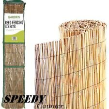New Fantastic Garden Reed Fencing: 1.5 x 4M Ideal for screening walls and fences