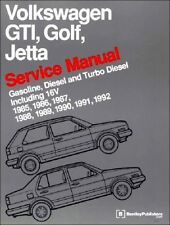 VW GTI Jetta Golf NEW Bentley #VG92 Service Manual 81 to 92 listed FREE SHIP