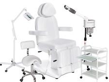 Fußpflegekabine Fußpflegestuhl elektrisch Massageliege Fußpflegeliege Bedampfer