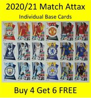 2020/21 Match Attax English Cards - Buy 4 Get 6 FREE Liverpool Chelsea Arsenal