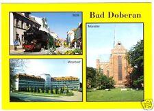 AK, Bad Doberan, drei Abb., u.a. Schmalspurbahn Molli, 2003