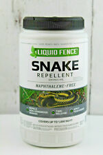 Liquid Fence Snake Repellent Granules Naphthalene Free 2 lbs Container Unused