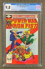 POWER MAN & IRON FIST #84 Marvel Comics 1982 CGC 9.8 Sabretooth Appearance
