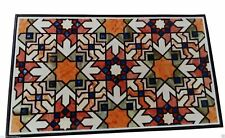 """24""""x48"""" Marble Inlay Dining Table Top Inlay Work New Design"""