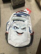 Ghostbusters Marshmallow Man Backpack RARE Hot Topic NEW WITH TAGS Bookbag