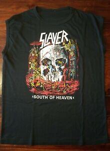 Slayer Muskelshirt Rar Vintage Metallica Sodom Iron Maiden Motörhead Mayhem
