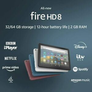 Amazon Kindle Fire HD 8 Tablet 32GB with Alexa ,10th gen. (2020 release).!!!